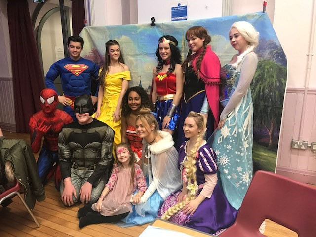 Children's Fancy Dress Christmas Party