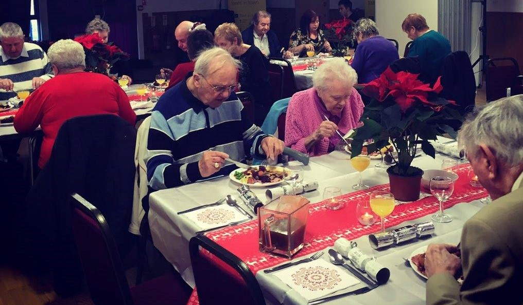 Pensioners Christmas Meal